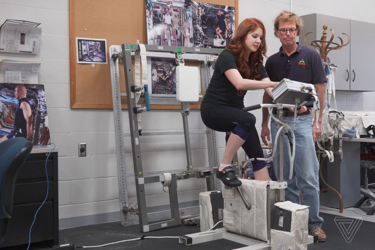 How Do Astronauts Exercise In Space The Verge