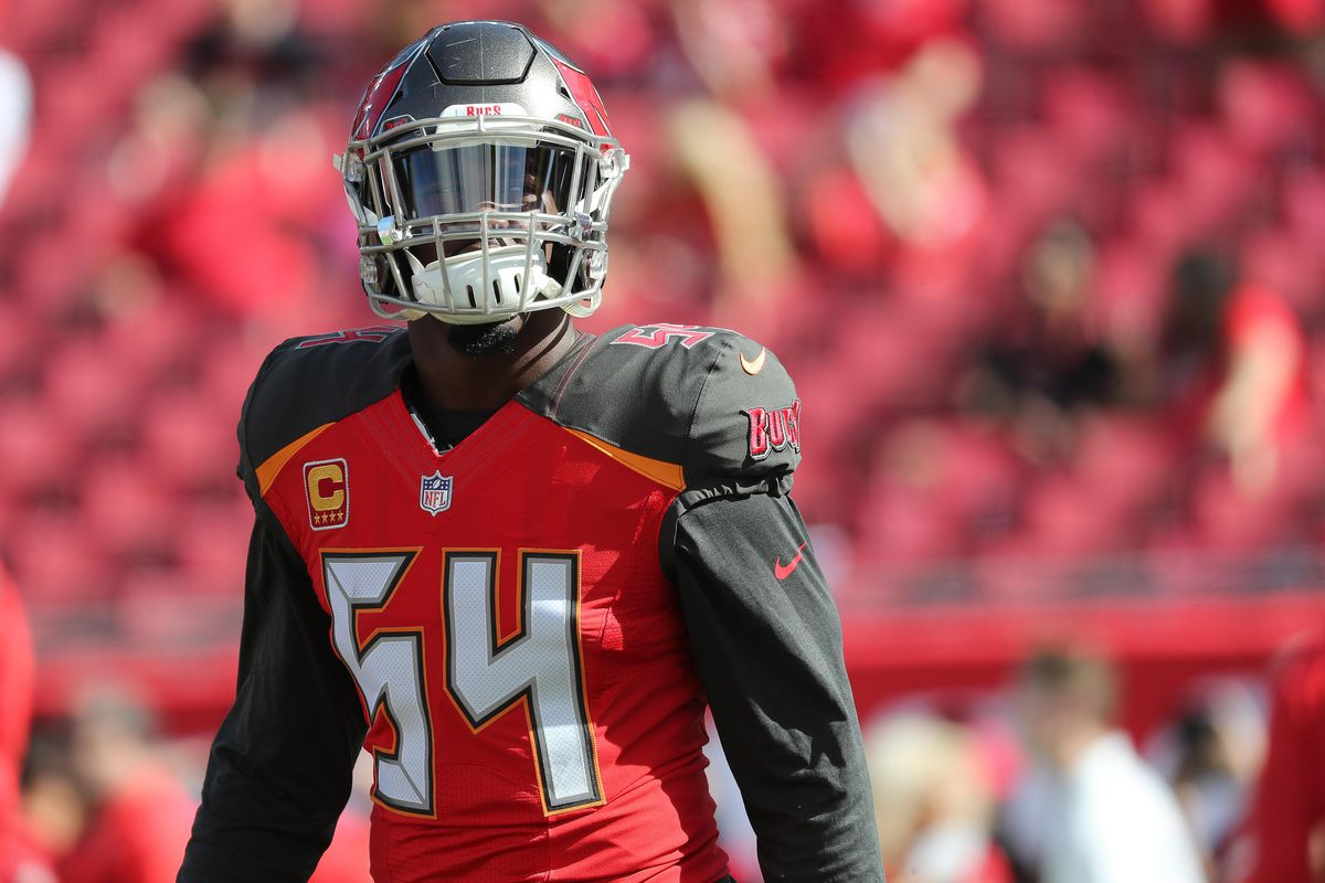 timeless design dc105 bb24c Bucs' LB Lavonte David Expected To Be Ready Week One - Bucs ...
