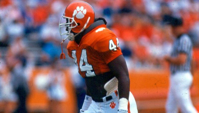 Levon Kirkland, LB, 1991 ACC Champion Clemson Tigers