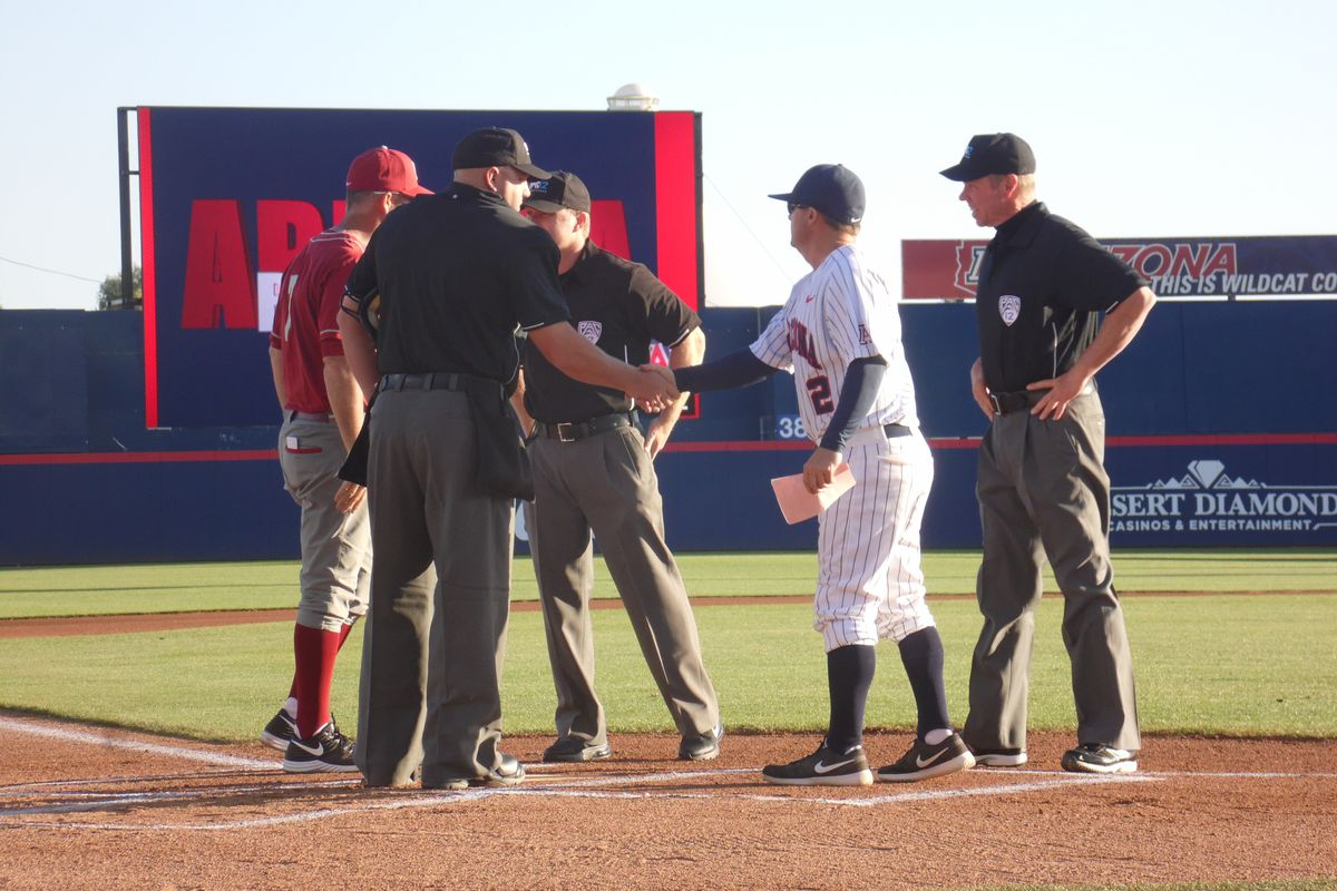 Jay Johnson was tossed from Saturday's game in the second inning