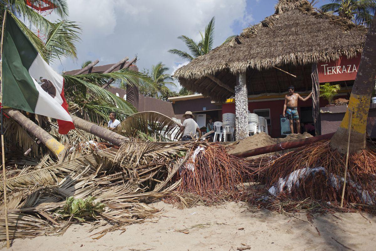 Hurricane Patricia Slams Into Mexico's Pacific Coast