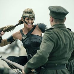 """This image released by Warner Bros. Entertainment shows Robin Wright in a scene from """"Wonder Woman,"""" in theaters on June 2. (Alex Bailey/Warner Bros. Entertainment via AP)"""