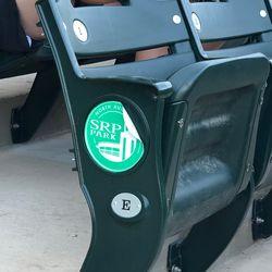 Stickers already peeling off the seats? A little soon, isn't it? -5