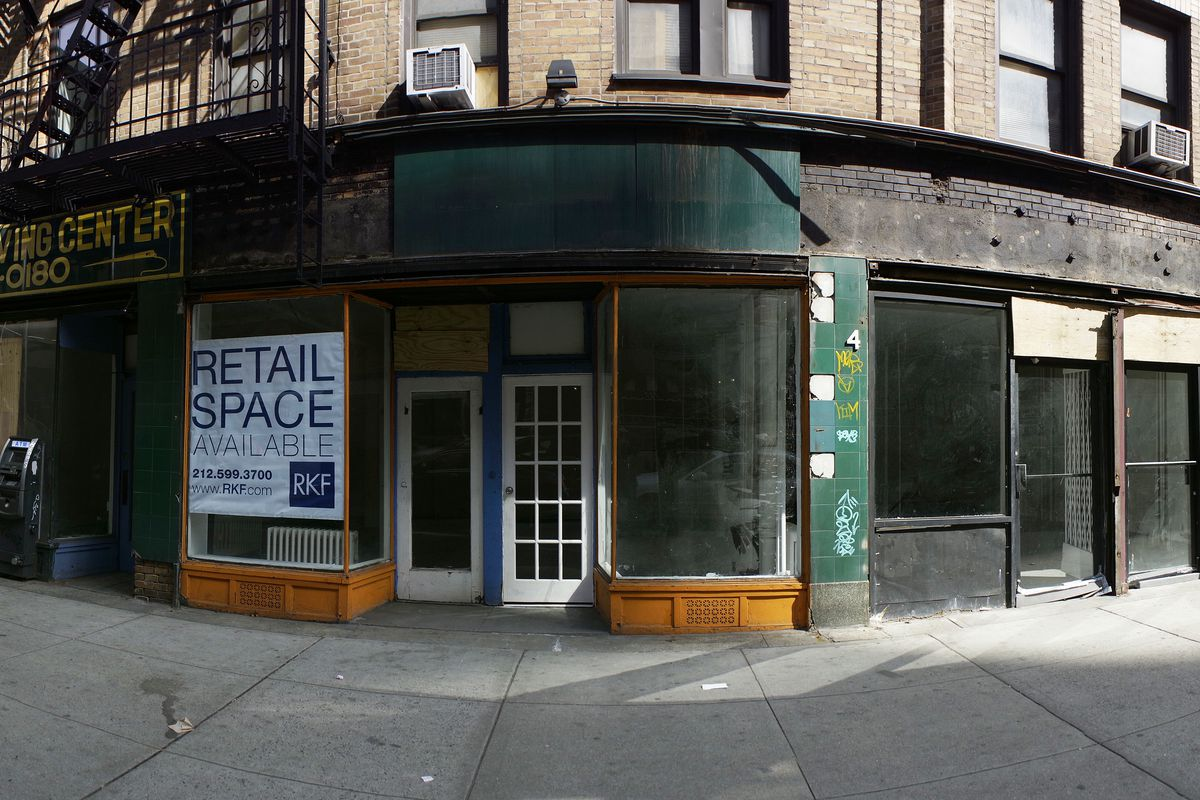 Vacant storefront problem may not be a citywide issue: study