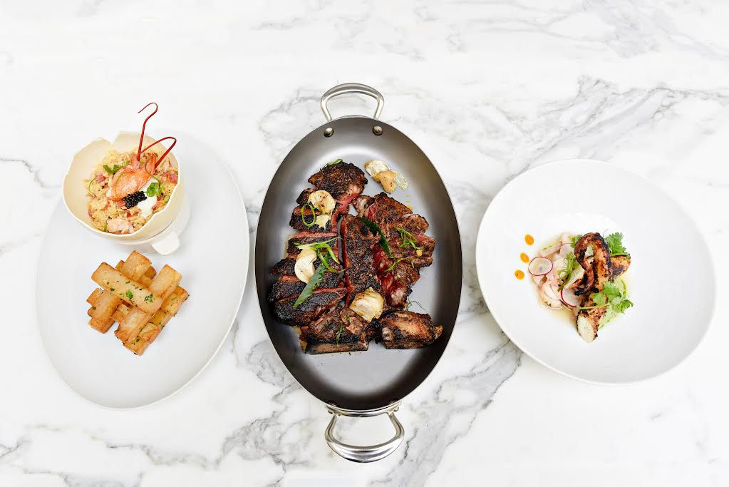 Entrees at BLT Prime [Photo: Official]