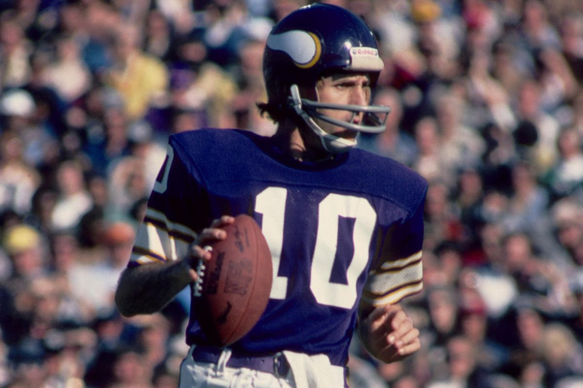 greatest viking of all time tournament  fran tarkenton