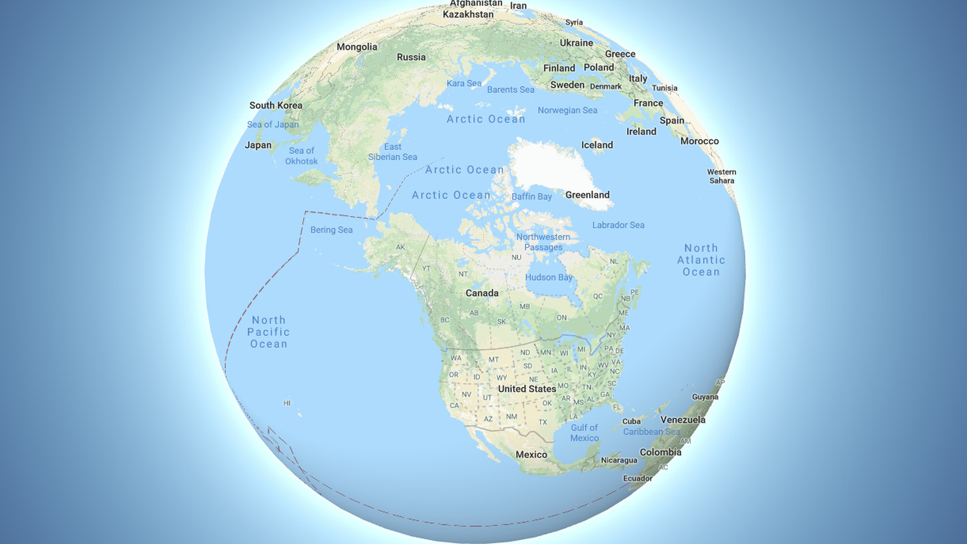 true flat earth map Google Maps Now Depicts The Earth As A Globe The Verge
