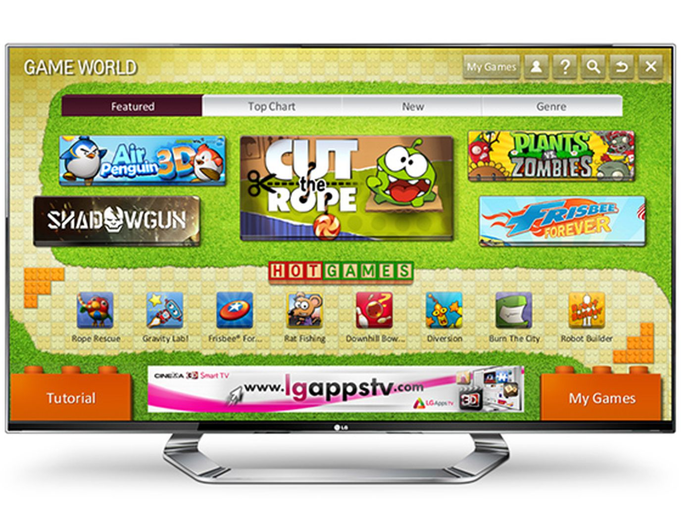 LG launching Smart TV game portal, big-name games on the way