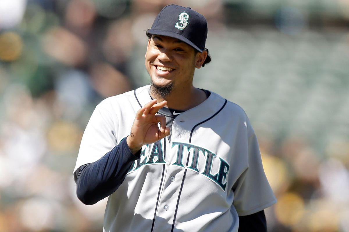 That smile is also a wonderful reason to appreciate King Felix.