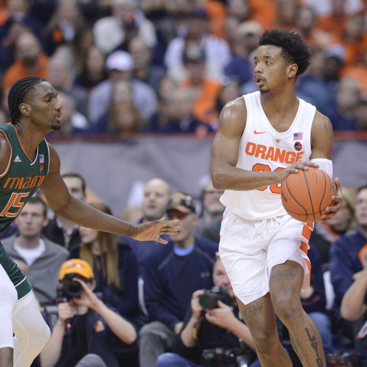Anthony Mack Miami Hurricanes Basketball Jersey - Orange