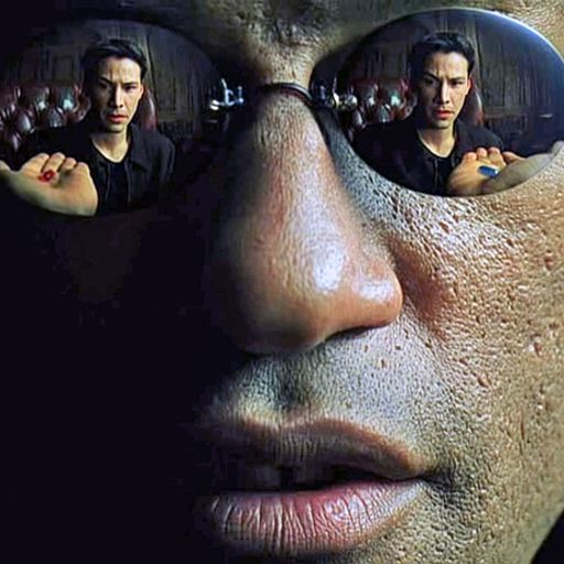 I'll take the blue pill. Cheers.