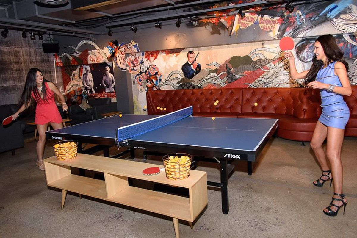 Celebrity Ping Pong Bar Spin Is Coming To D C Eater Dc