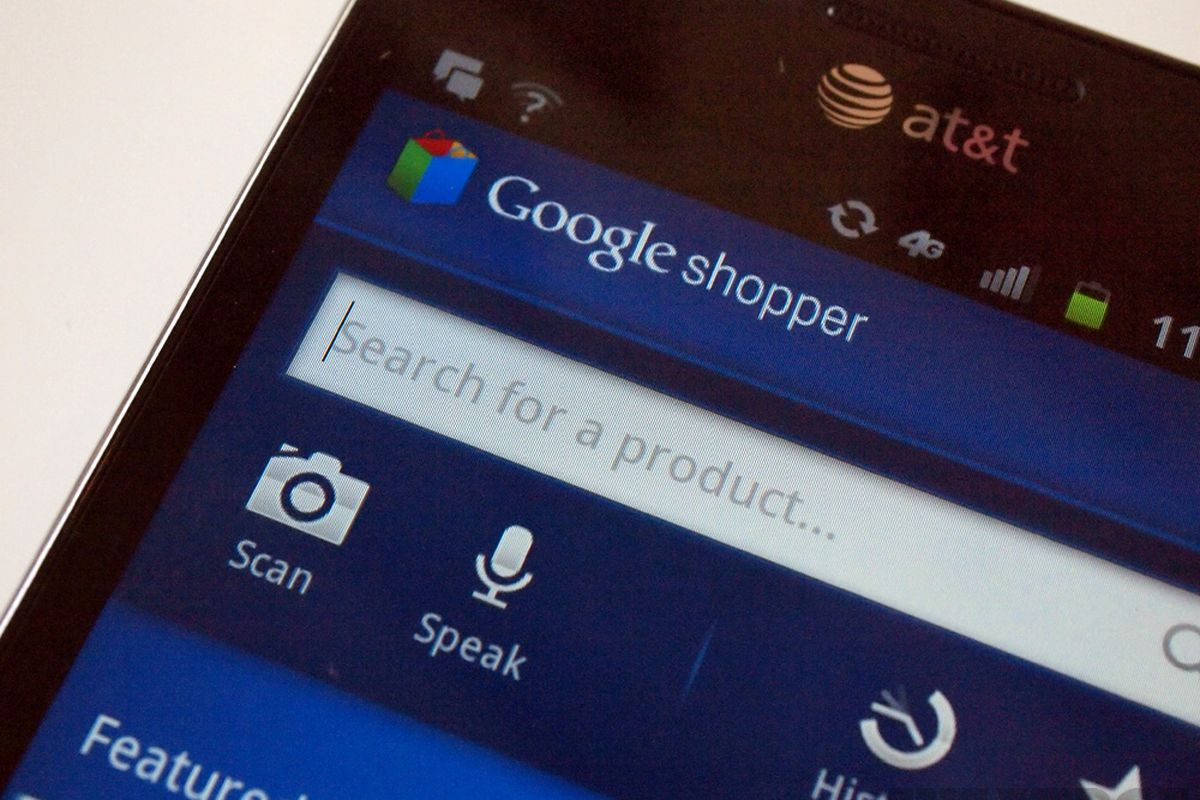 google shopper large