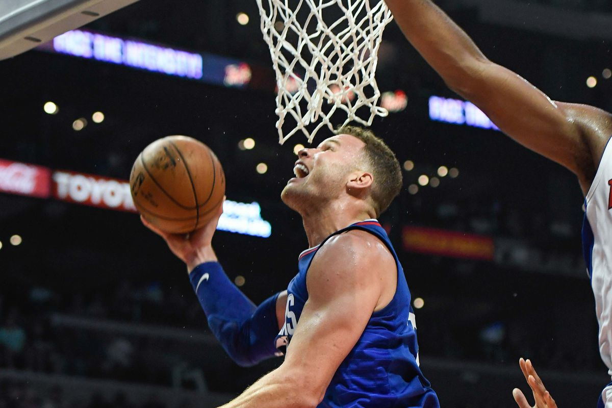 NBA: Detroit Pistons at Los Angeles Clippers