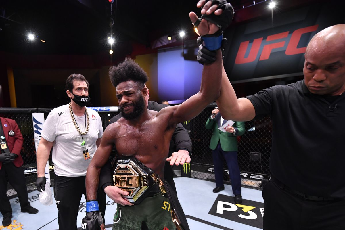 Aljamain Sterling deserves to be UFC champion, even if it happened in the worst way imaginable - MMA Fighting