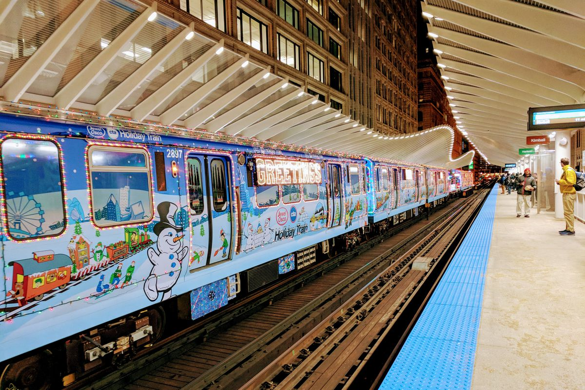How The Cta Holiday Train Tradition Began In Chicago