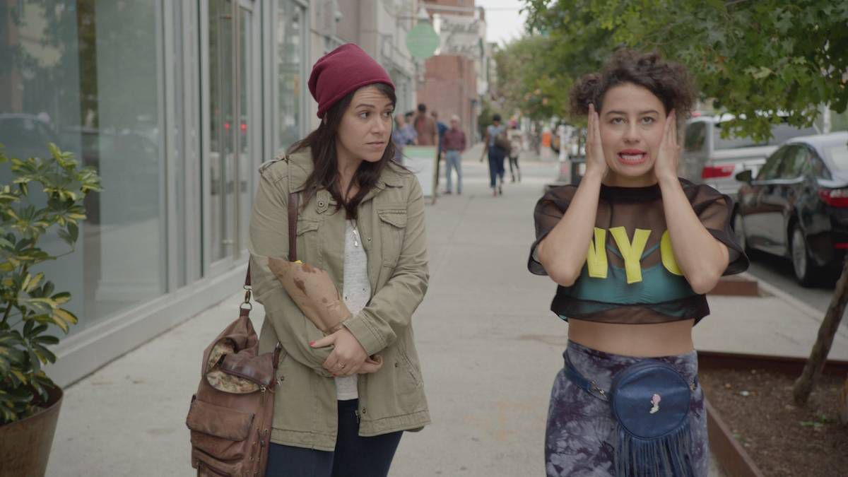 c4c1d4ce7d Abbi Jacobson as Abbi Abrams and Ilana Glazer as Ilana Wexler on Broad City.