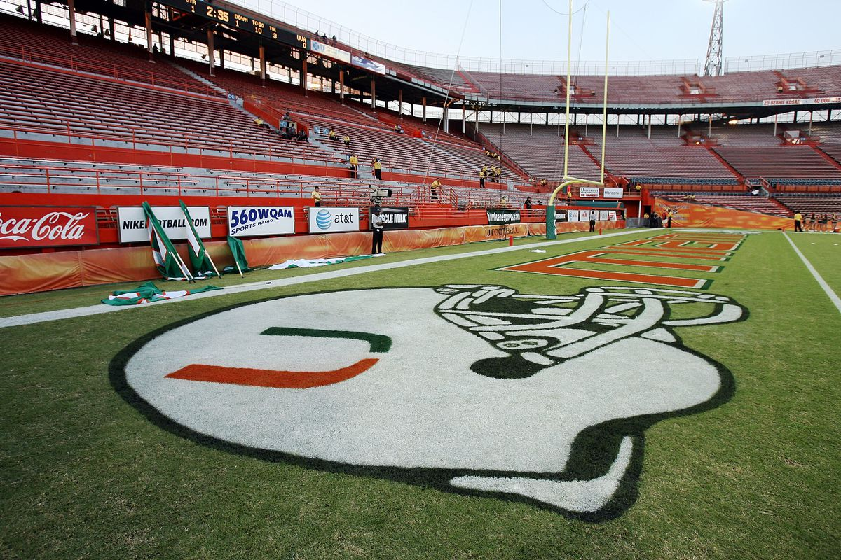Last University of Miami Game in Orange Bowl