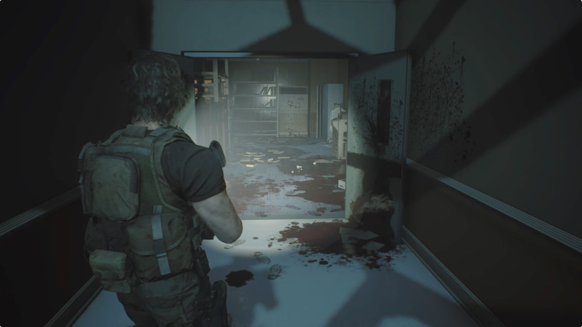 Resident Evil 3 Carlos In The Hospital Walkthrough Polygon