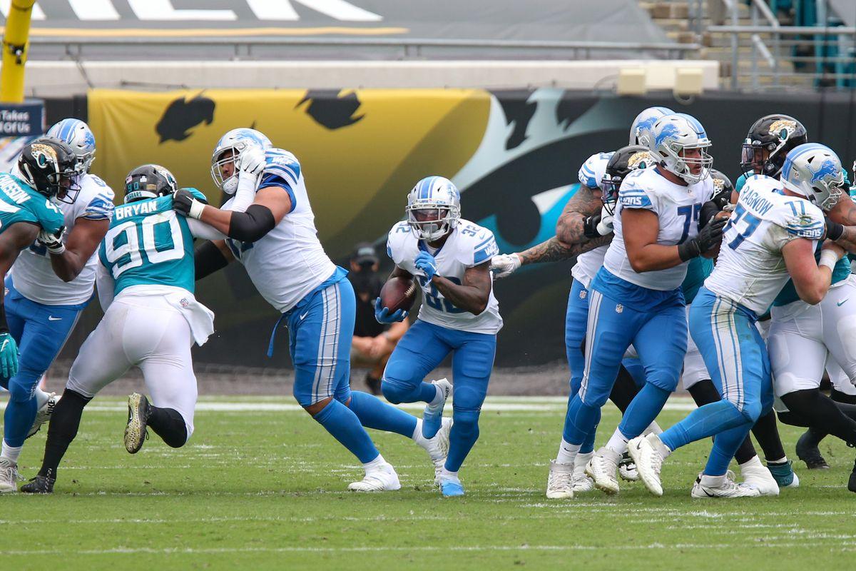 NFL: OCT 18 Lions at Jaguars