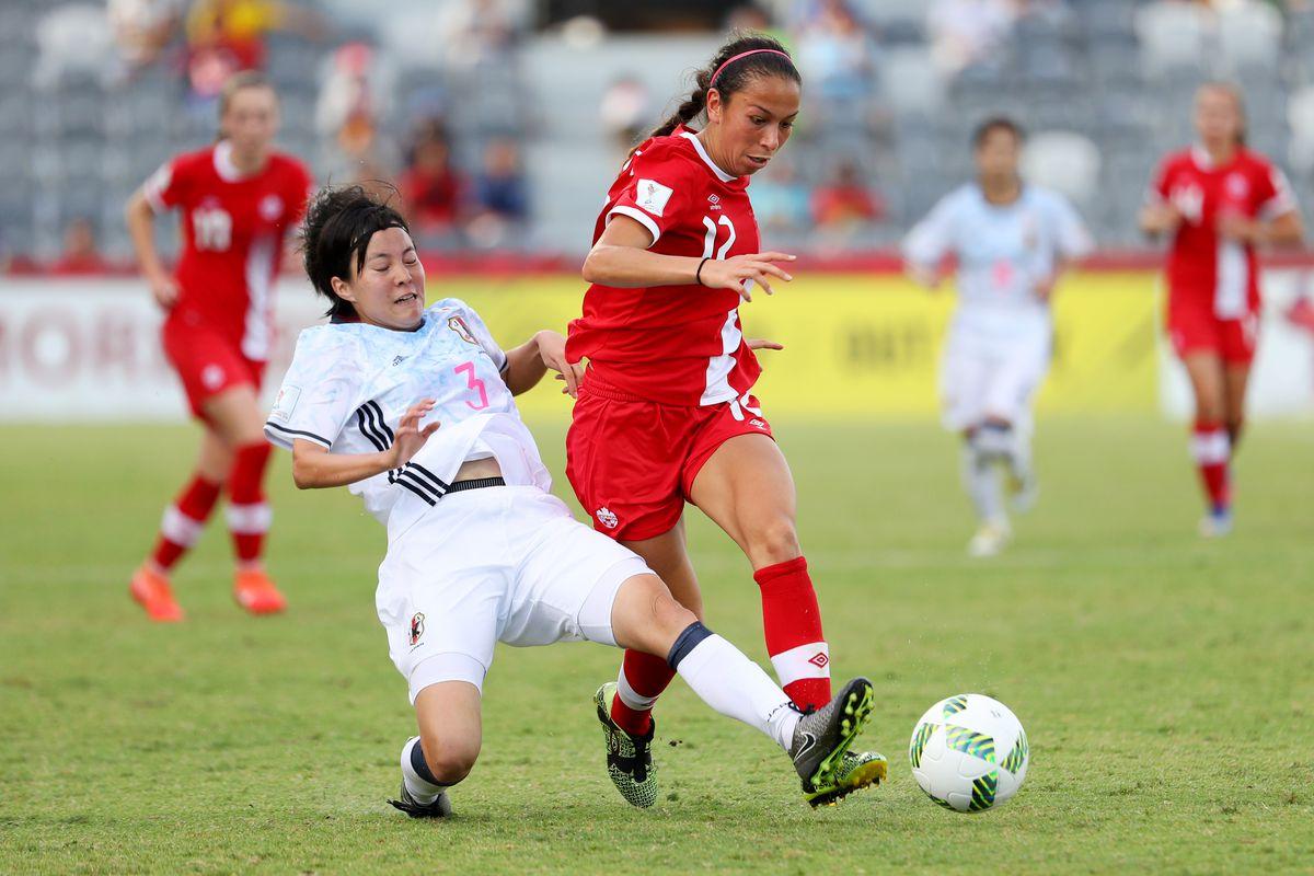 Canada v Japan: Group B - FIFA U-20 Women's World Cup Papua New Guinea 2016