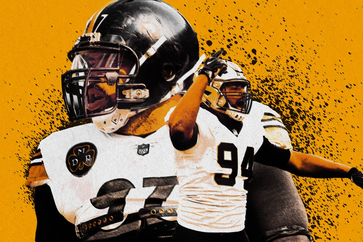 wholesale dealer 9a51d 56e62 The Parallel Paths of the Steelers' Cam Heyward and the ...