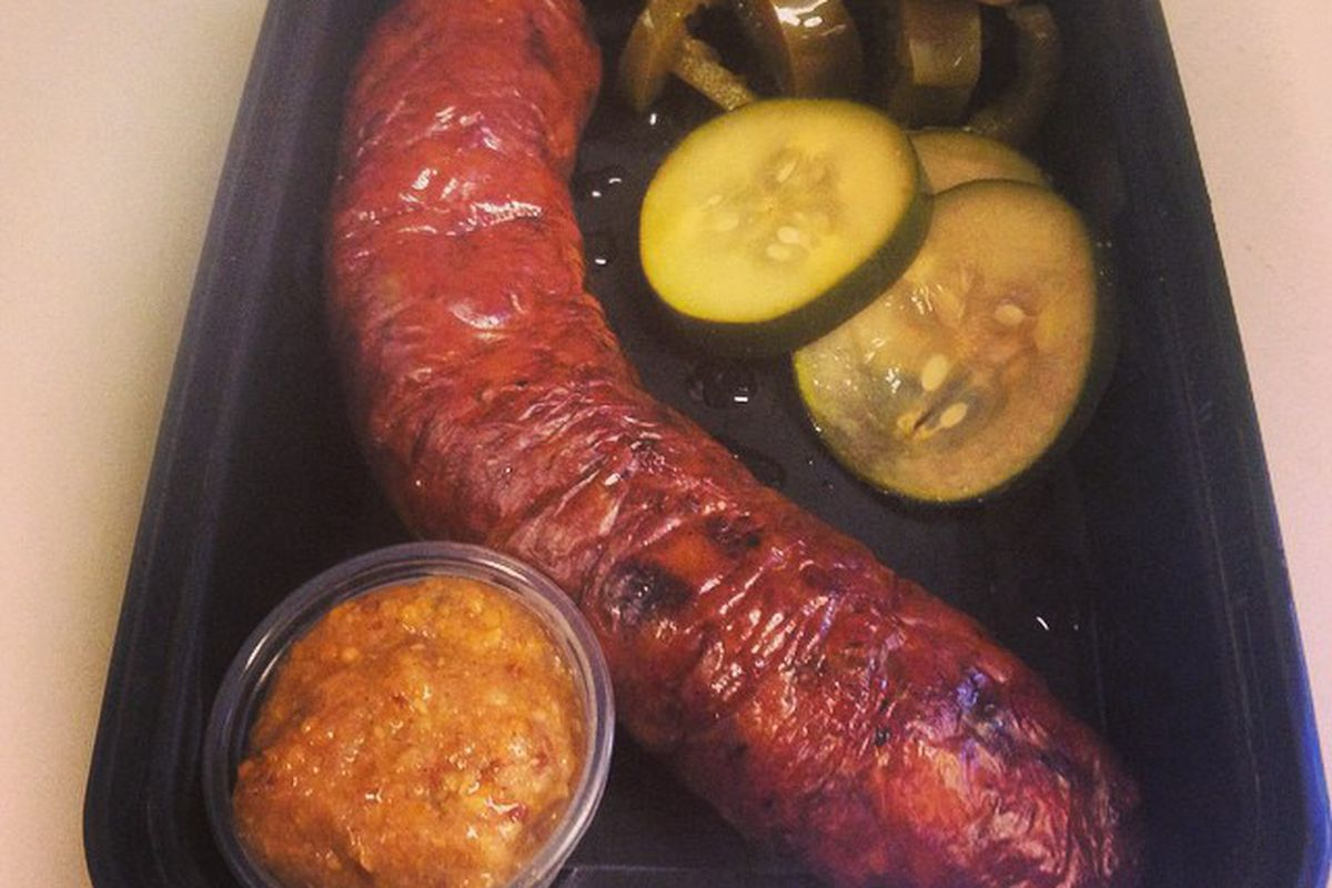 The Thanksgiving Sausage from Goldis Sausage Co.