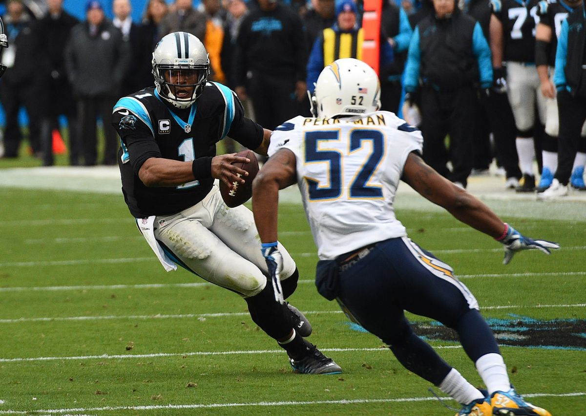 NFL: San Diego Chargers at Carolina Panthers