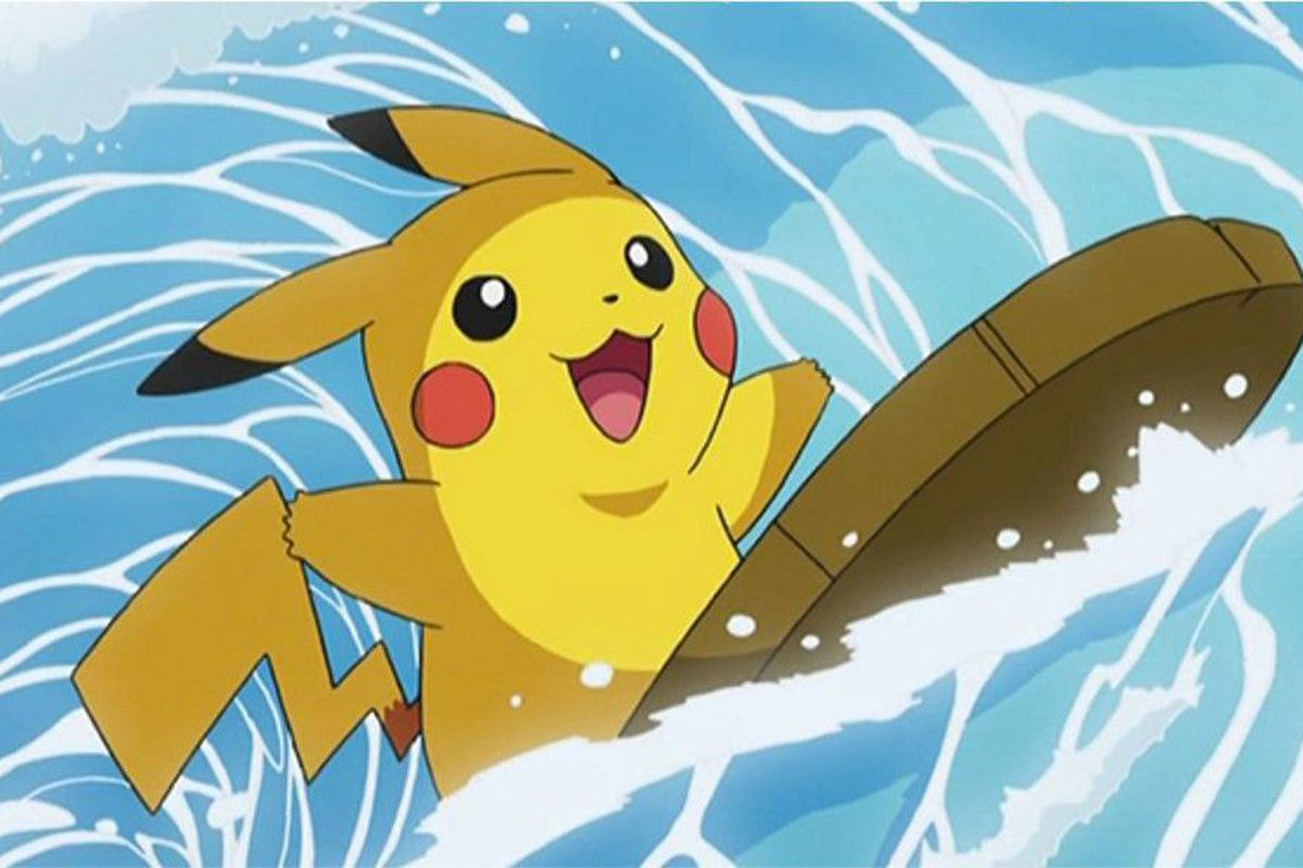 Surfin pikachu is coming to pok mon go polygon - Image pikachu ...