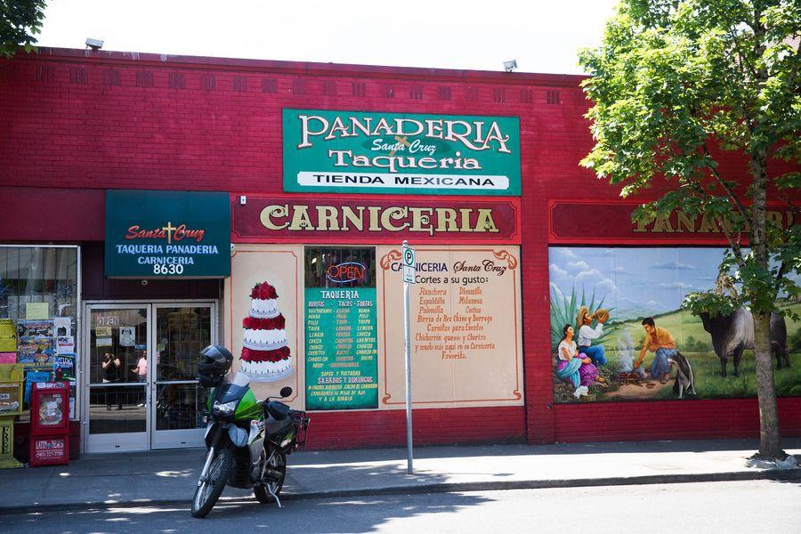 Taqueria Santa Cruz in Portland. [Photo: Dina Avila]