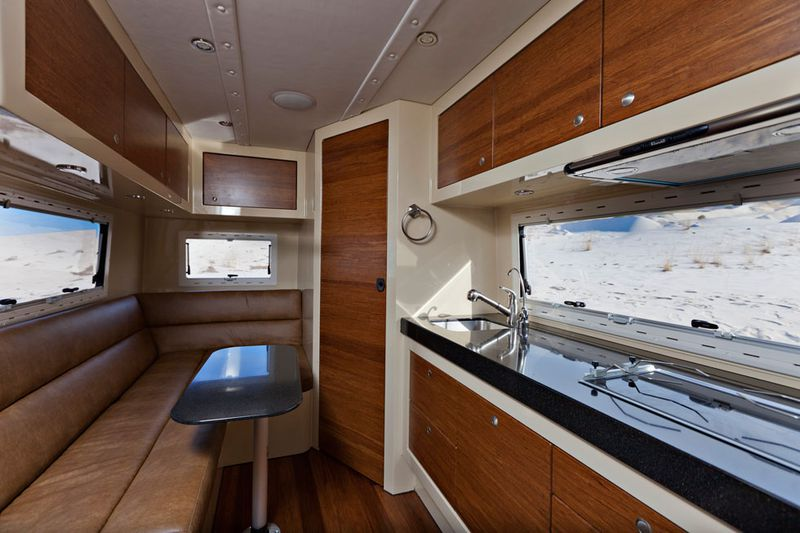 Rugged Off Road Camper Sports A Surprisingly Fancy Interior