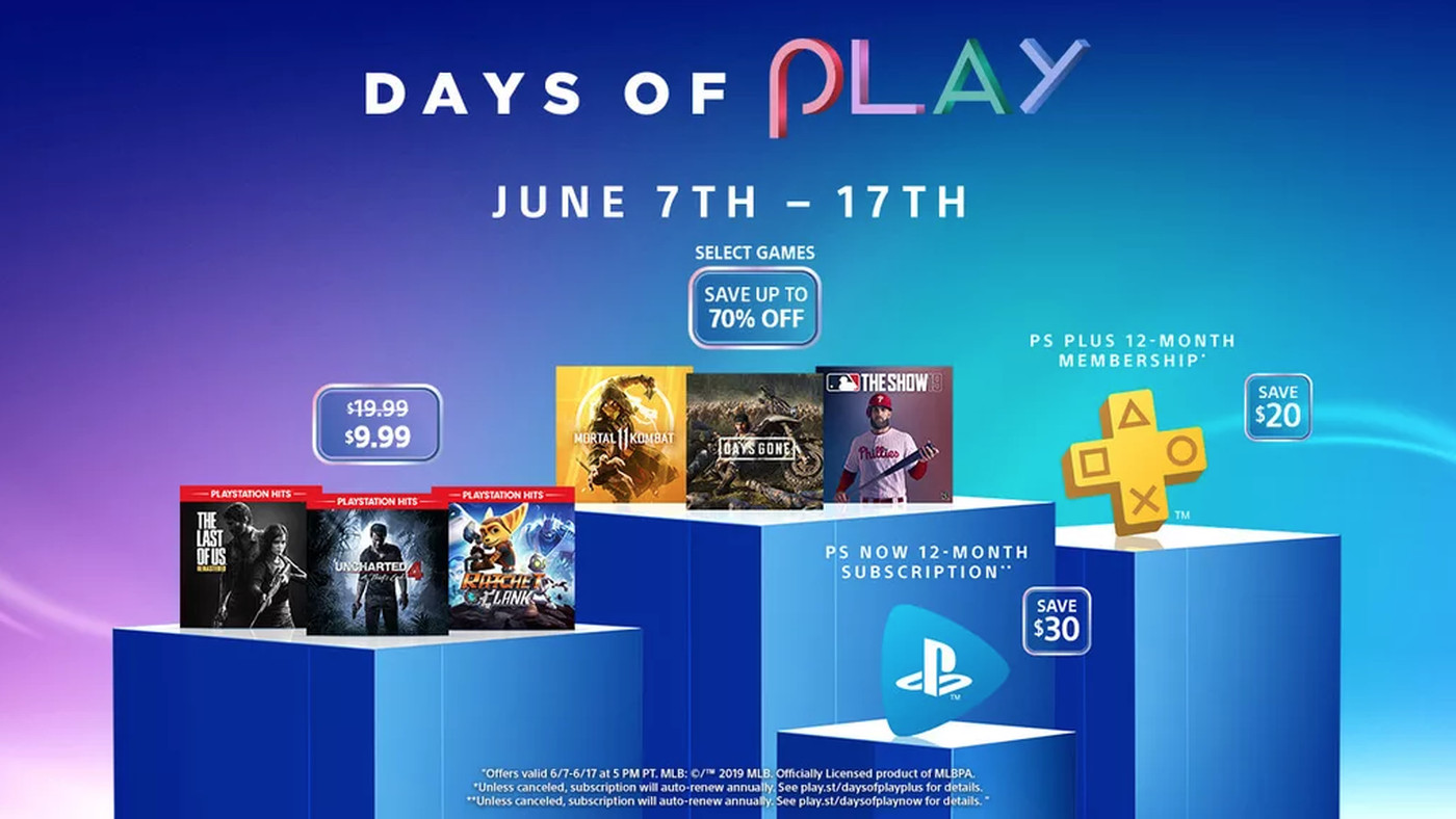 Playstation S Annual Days Of Play Sale Underway Now Polygon