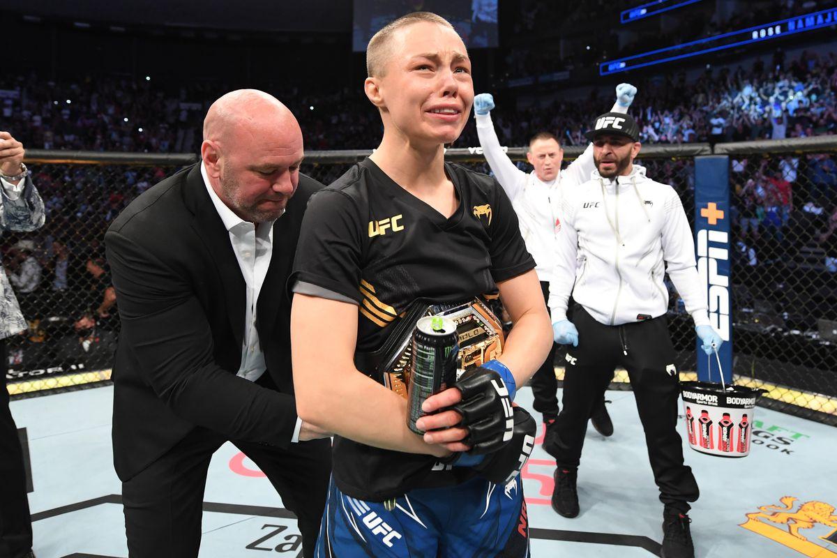 UFC 261: Zhang v Namajunas