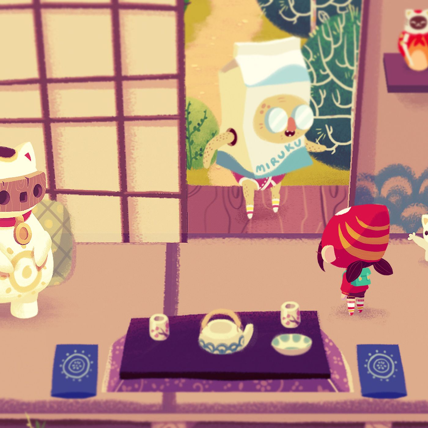 Mineko S Night Market Is A Cat Filled Spin On Animal Crossing