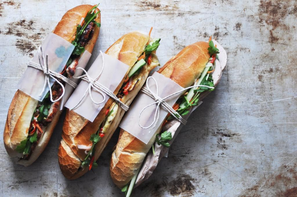 Lan Hue serves up popular banh mi sandwiches in the International District.