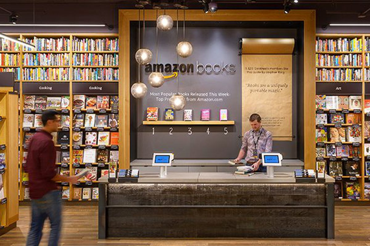 amazon is opening a physical bookstore in new york city in 2017 the verge. Black Bedroom Furniture Sets. Home Design Ideas