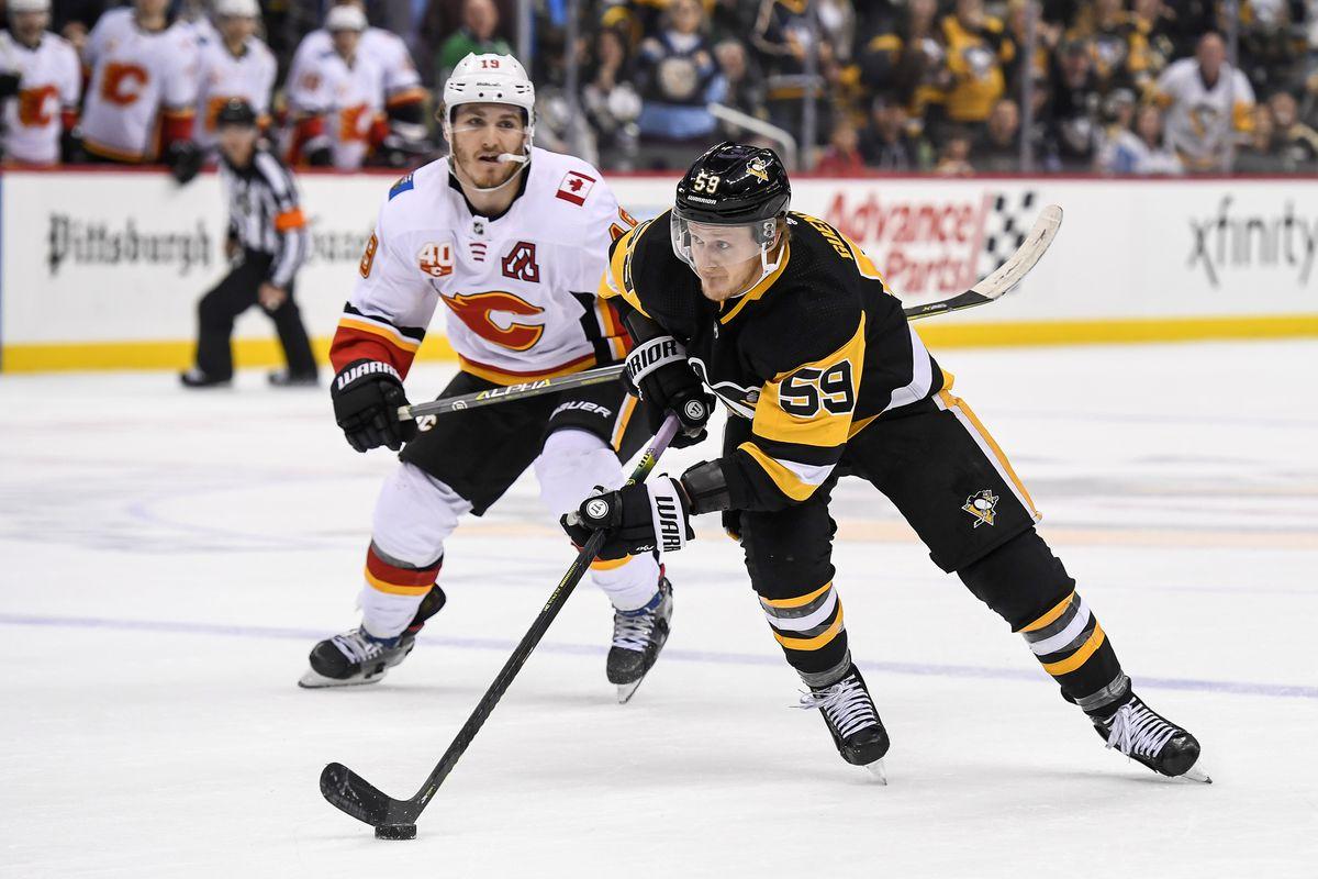 NHL: NOV 25 Flames at Penguins