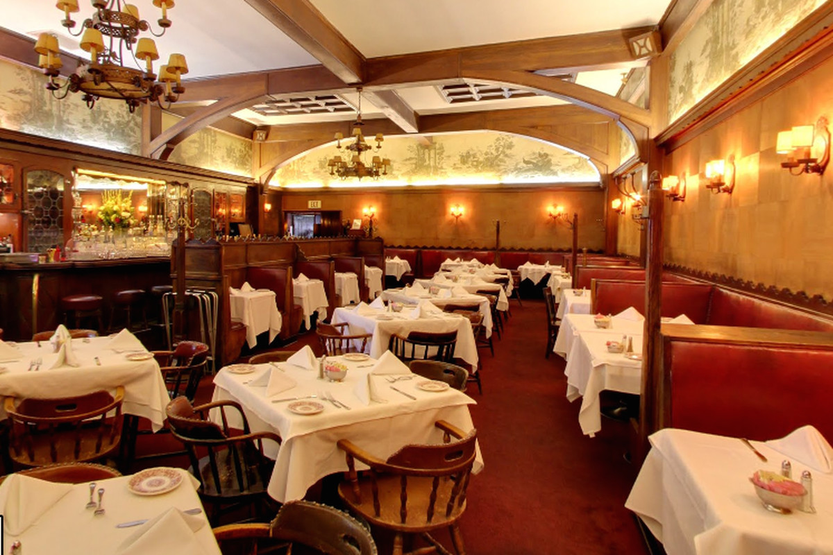 Inside Musso & Frank Grill, Hollywood