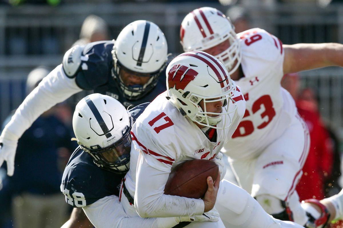 NCAA Football: Wisconsin at Penn State