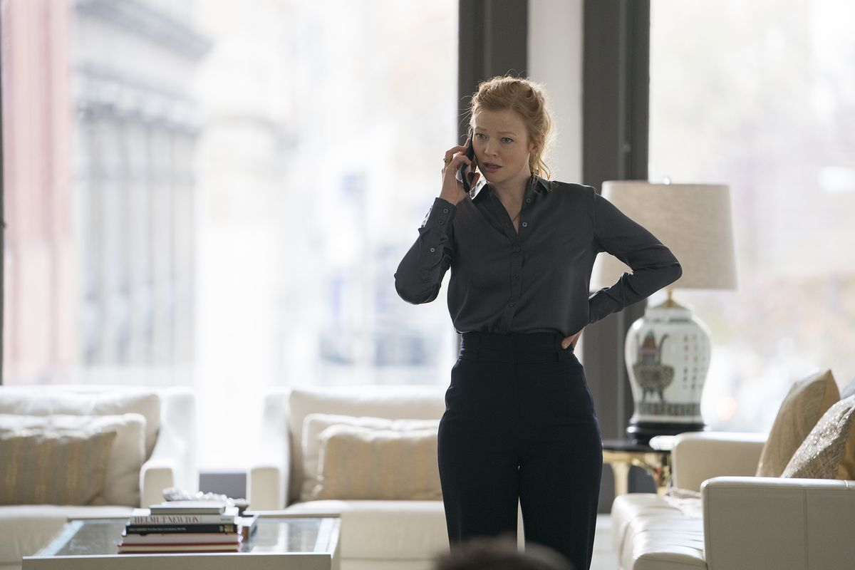 Succession 106 - Shiv on the phone