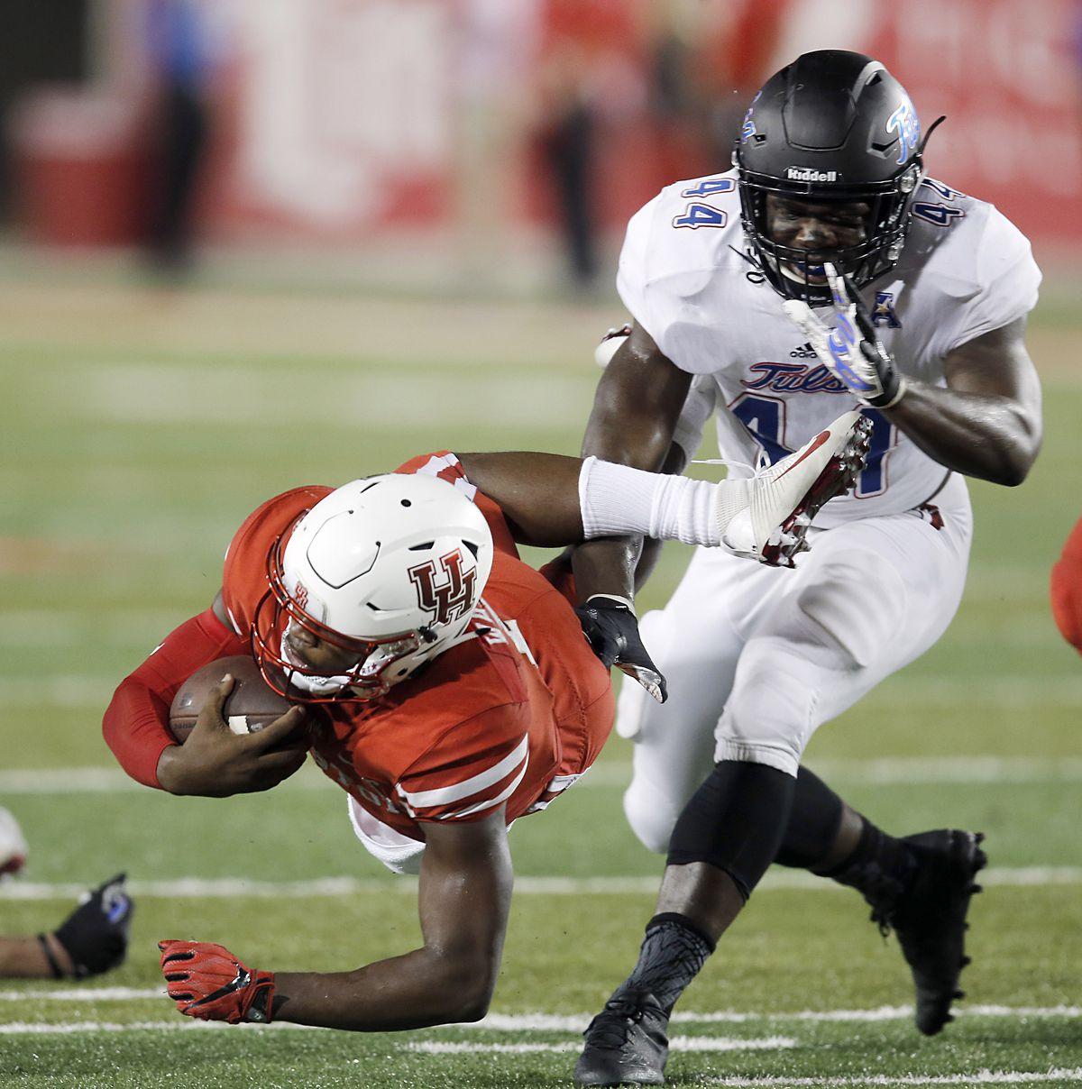 NCAA Football: Tulsa at Houston
