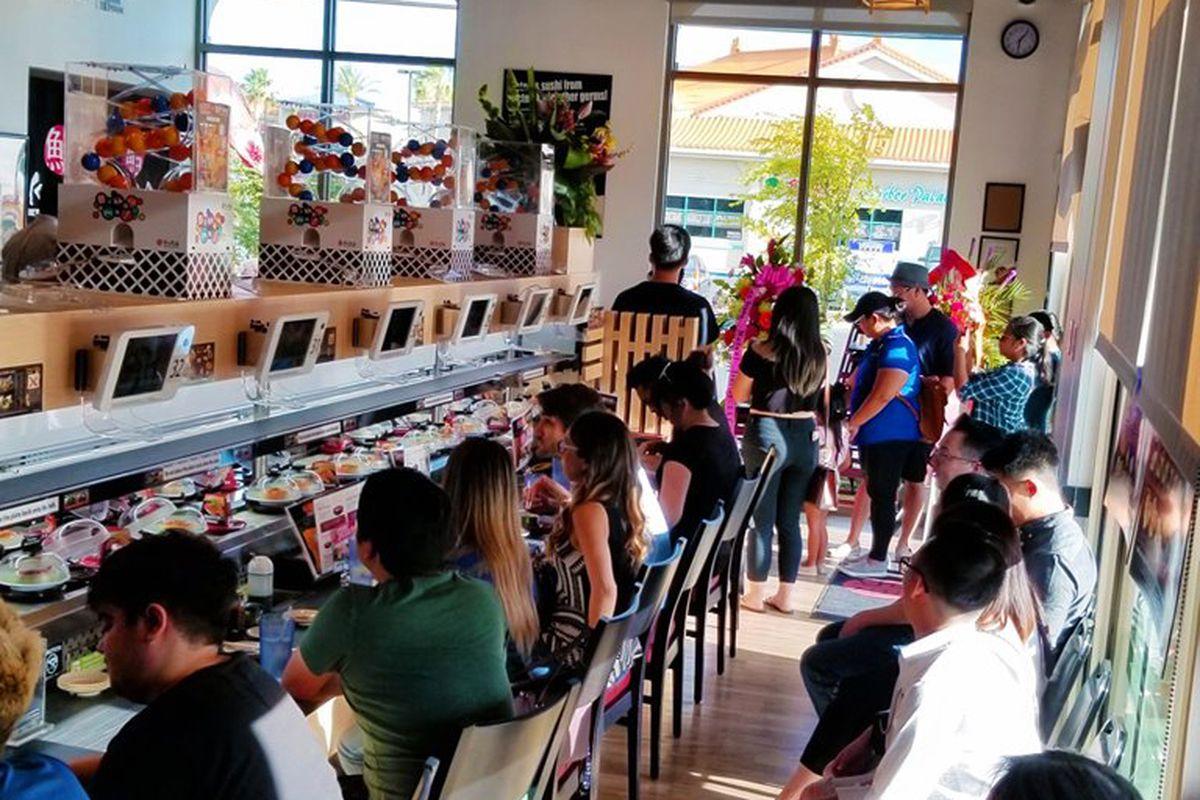 Kura Revolving Sushi Bar Las Vegas
