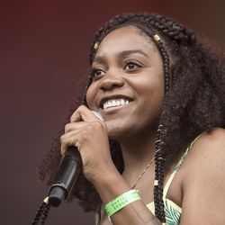 Noname performs at the Pitchfork Music Festival.   Ashlee Rezin/Sun-Times