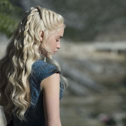 Season 4: Clearly the hair team was into twists this season.