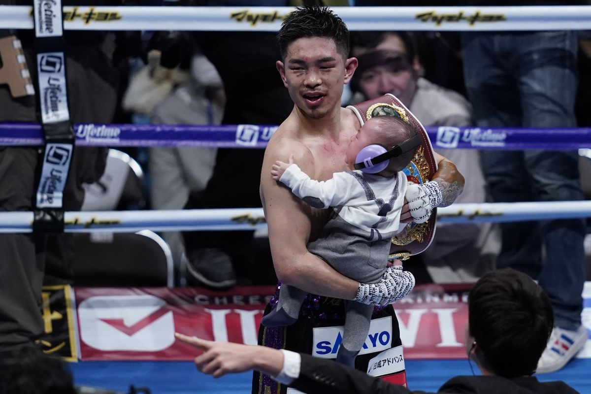 Kazuto Ioka v Jeyvier Cintron - WBO Super Flyweight Title Bout