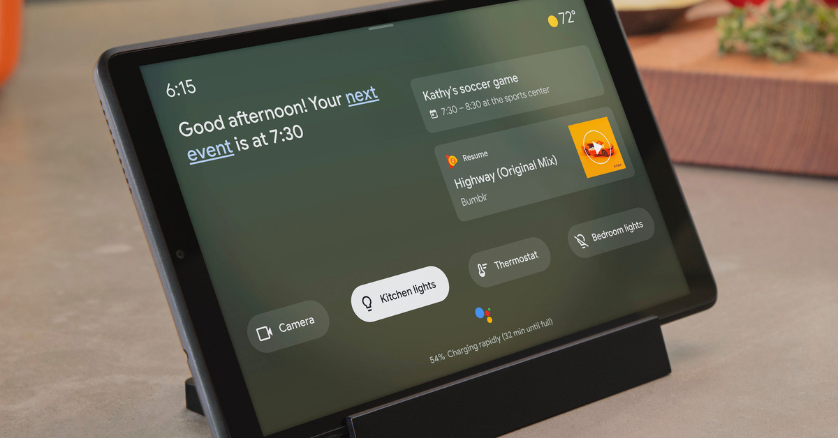 Google Assistant's Ambient Mode turns Android devices into smart displays