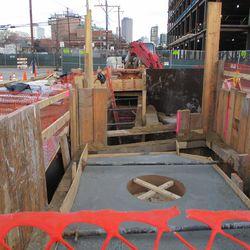 A peek into the Clark & Waveland excavation -
