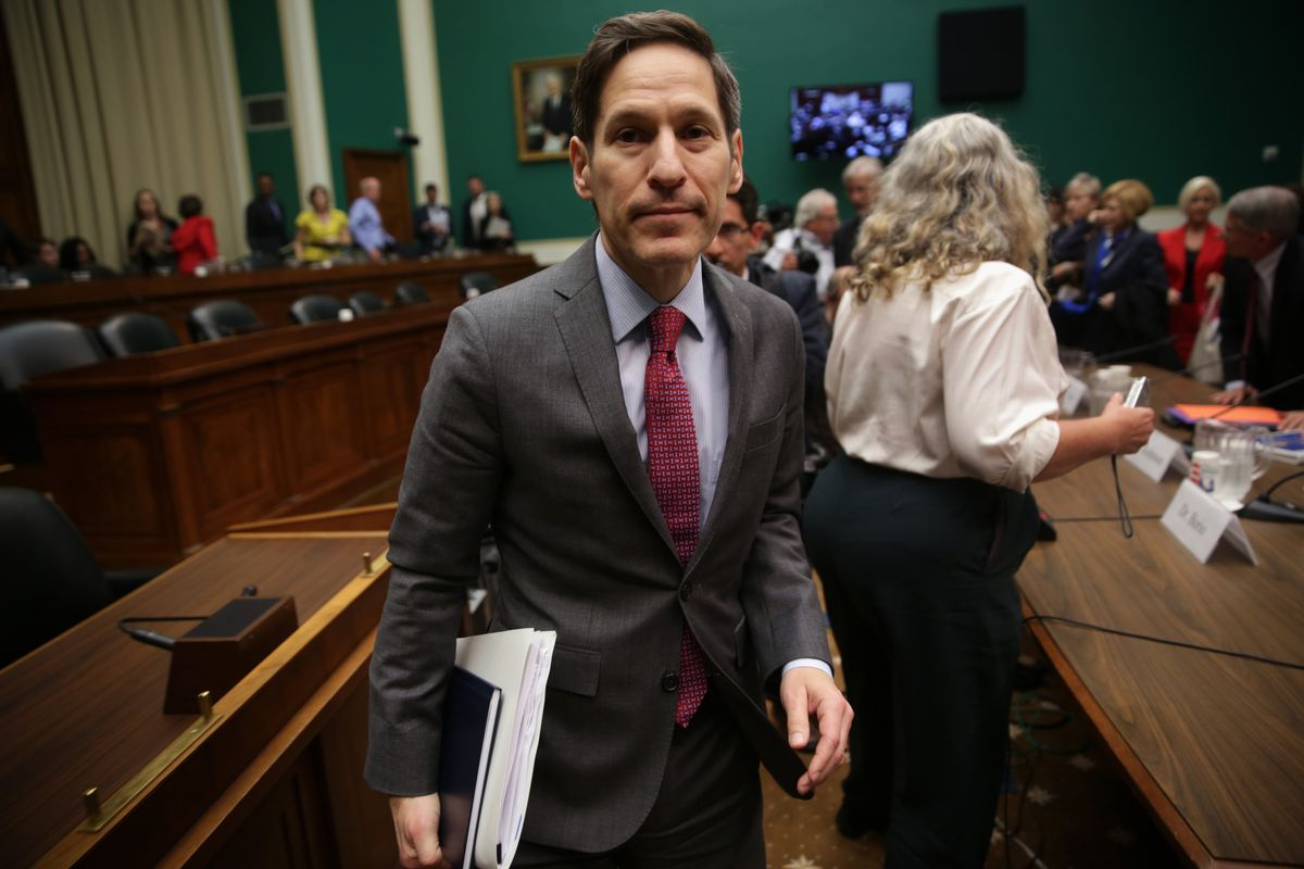Director of the Centers for Disease Control and Prevention Dr. Thomas Frieden.