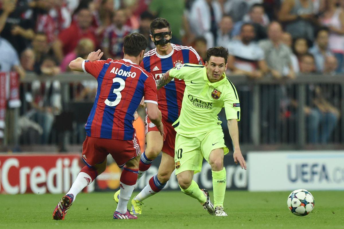 Champions League FC Bayern Muenchen - FC Barcelona