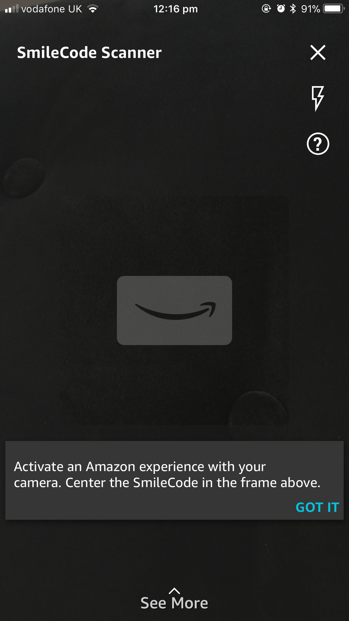 Amazon S Smilecodes Are Qr Codes Users Scan To Get Discounts And Other Offers The Verge